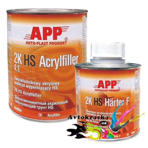 App 020416 Акриловый подклад серый 1л+0,25л