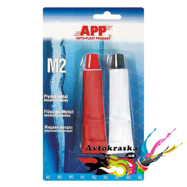 App 040518 Клей жидкий металл M2 2х20гр