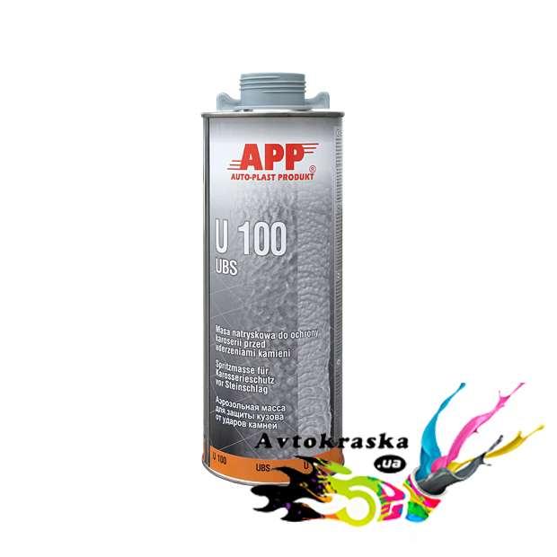 Антигравий для защиты кузова App 050100 U100 серый 1л - 050100