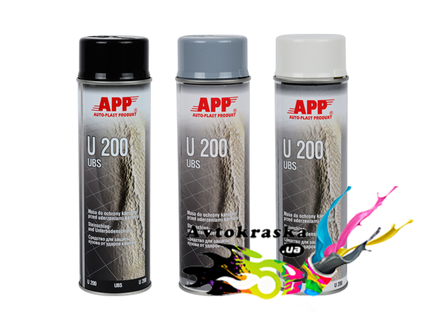 APP 050205 Гравитекс U200 в аэрозоле Baranek серый