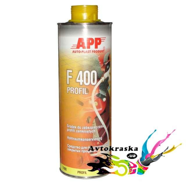 APP 050301 Мовиль для защиты закрытых профилей янтарный
