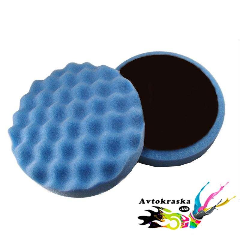 App 080401 Полировальная профилированная губка 150мм х 2,5см голубая - 080401