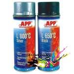 APP 210431 Жаростойкая аэрозольная краска черная 400мл