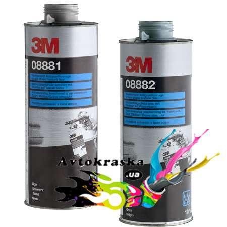 3M 08881 Антигравийное текстурное покрытие на водной основе черное 1л