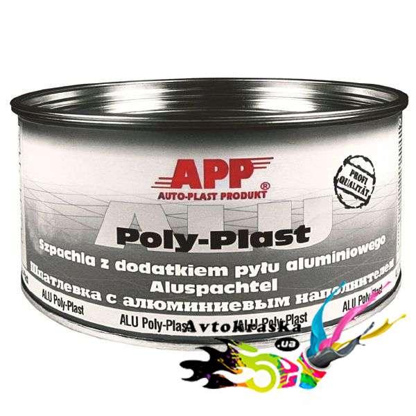 Шпатлевка с алюминиевой пудрой App 010225 1,8 кг