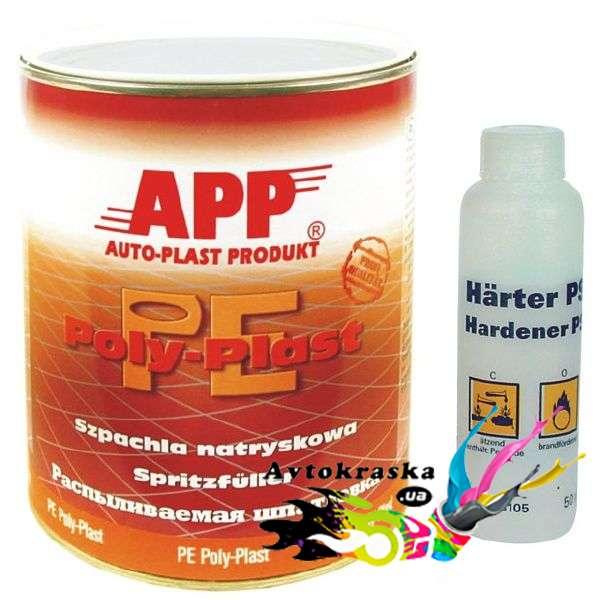 App 010501 Шпатлевка жидкая (распыляемая) 1кг