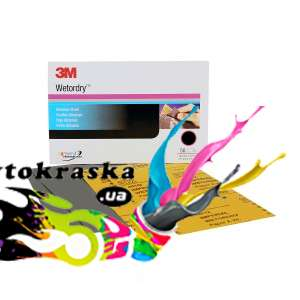 3M 02045 Микротонкие абразивные листы 401Q Magic P2500