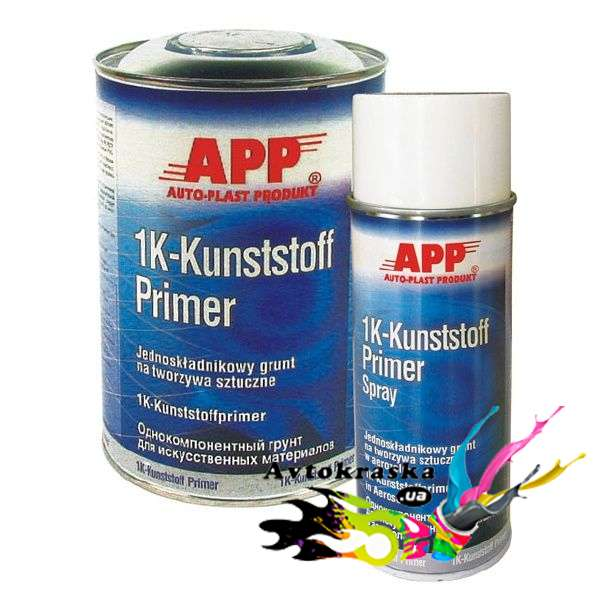 Грунт для пластика App 020901 однокомпонентный 1л