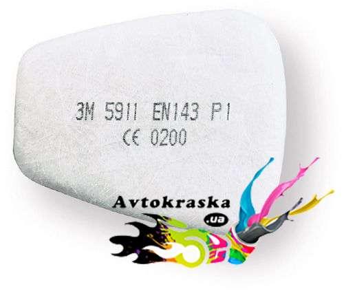 Фильтр 3М 5925 от пыли и аэрозолей для масок 6000