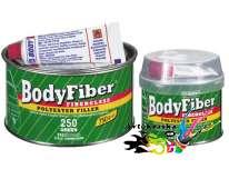 Шпатлевка Body 250 Fiber со стекловолокном 1,5 кг