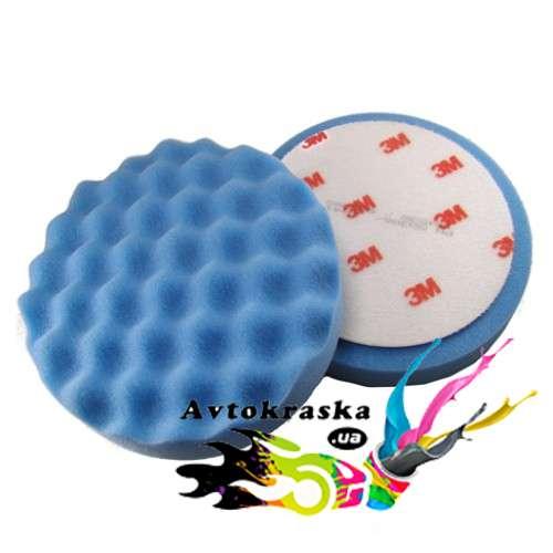 3M 50388 Синий поролоновый полировальный круг 150мм