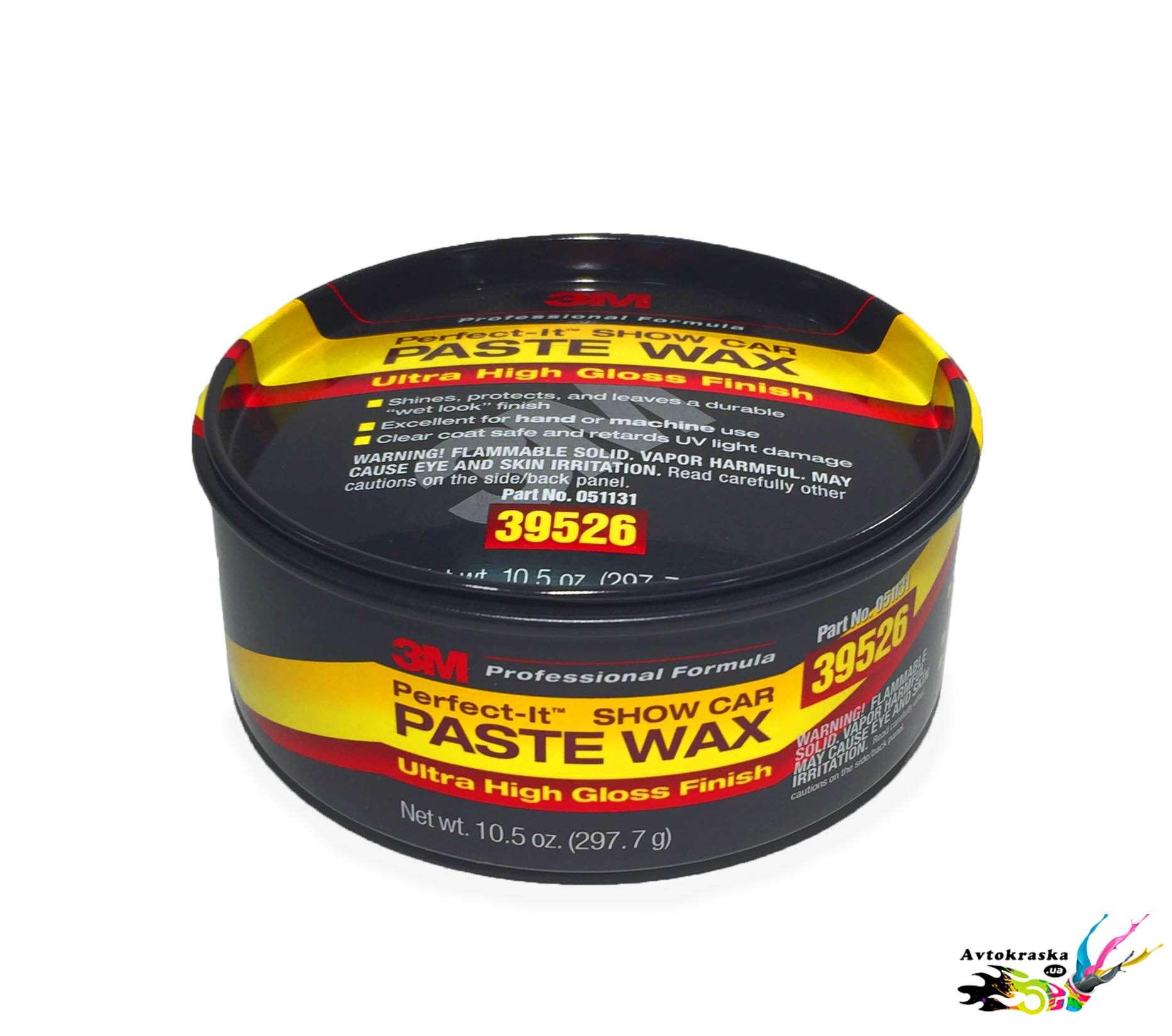 3М 39526 Паста-воск для лакокрасочного покрытия Perfect-it 0,3 кг - 39526