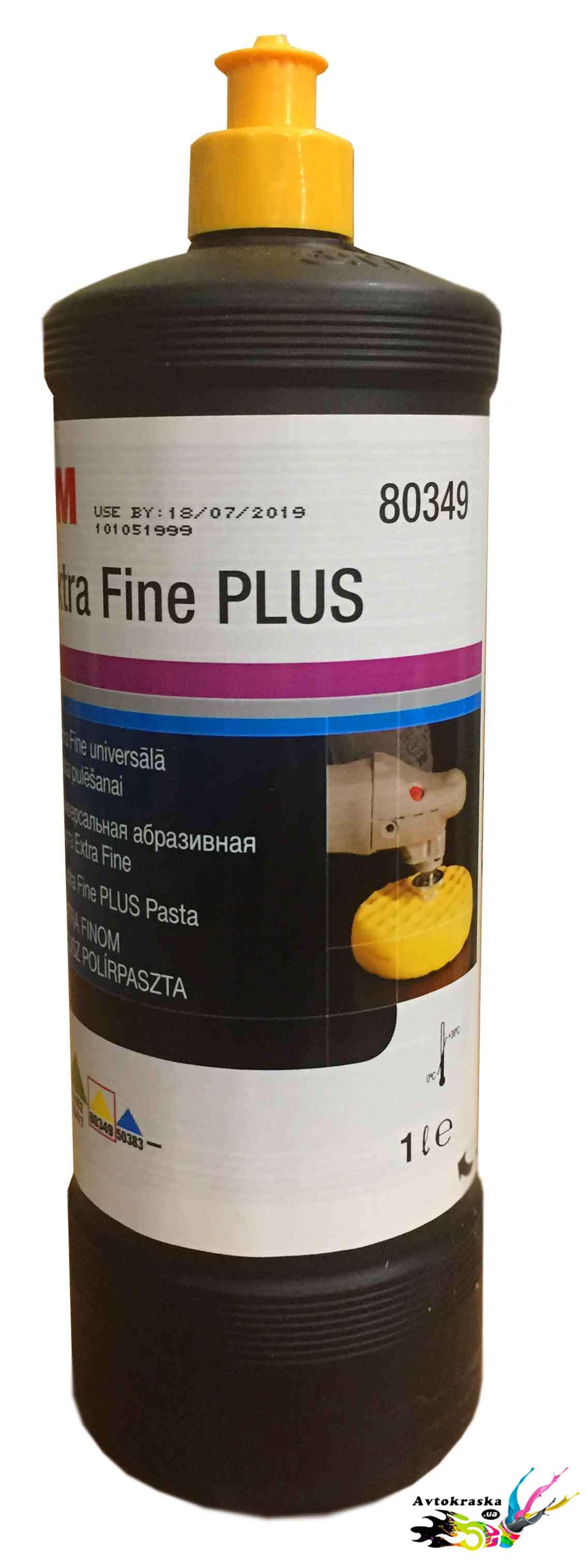 3m 80349 Полировальная паста Extra Fine Compound 1л