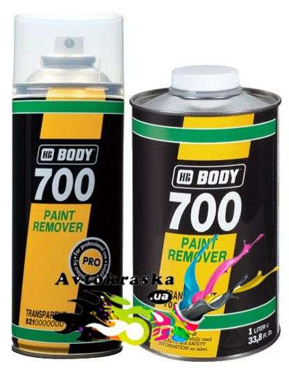 Смывка старой краски Body 700 1 л.