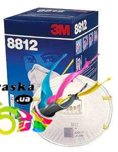3M 8812 Респиратор с клапаном FFP1