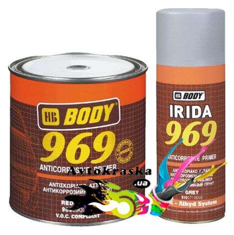 Грунт Body 969 антикоррозийный коричневый 1кг