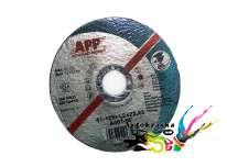 Круг отрезной на болгарку APP 06YA12 для стали d125 x 1,2 x 22,2 мм