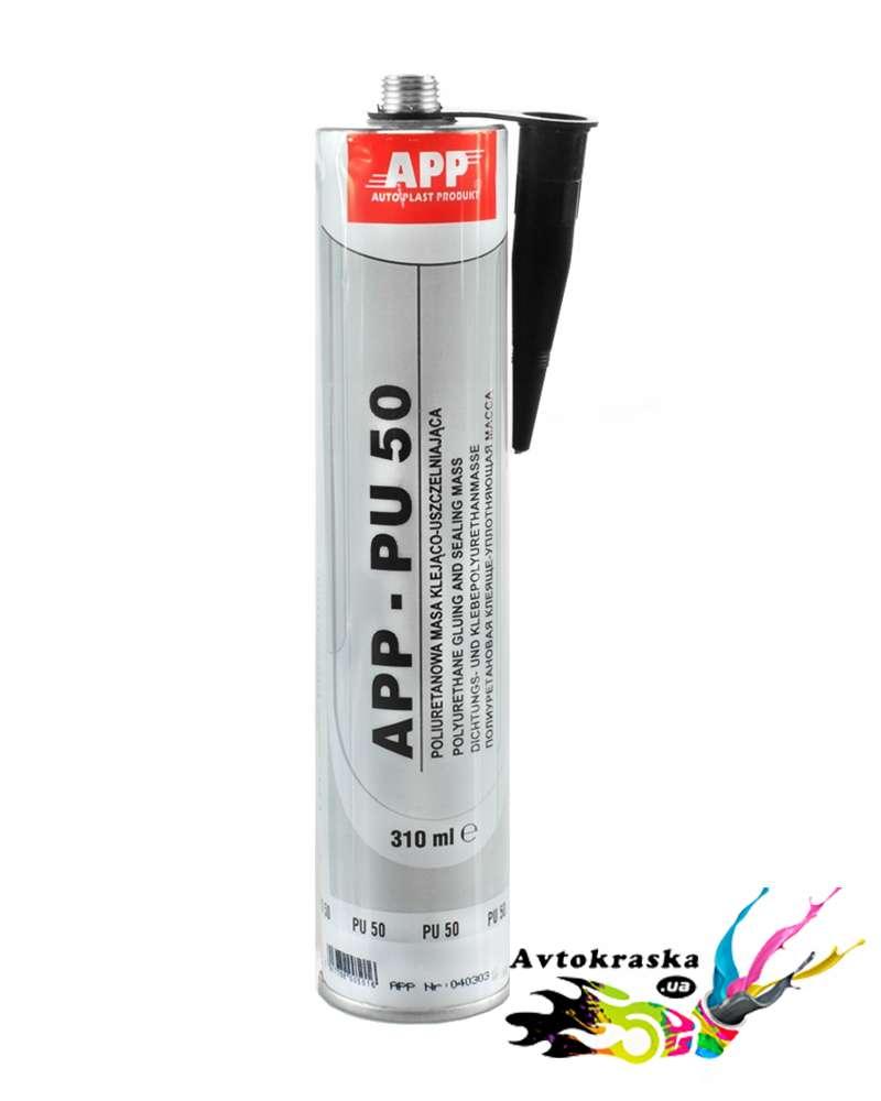 Герметик полиуретановый App 040303 PU 50 черный 310 мл