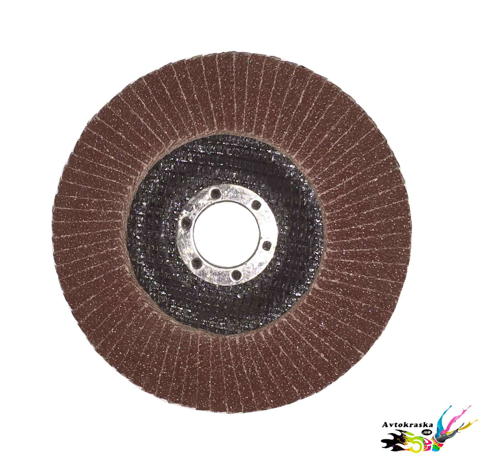 Лепестковый зачистной круг APP 06XLM60 на болгарку 125ммх22мм P60