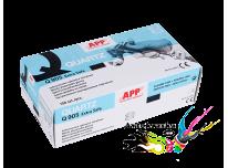 Нитриловые перчатки повышенной прочности APP Quartz синие размер L