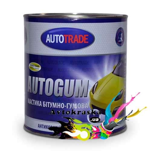 Автотрейд Антикоррозийная мастика резинобитумная 4,3кг