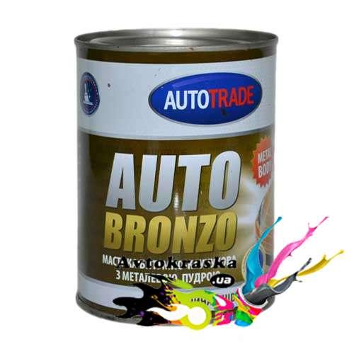 Мастика Автотрейд битумно-каучуковая Autobronzo 0,9кг