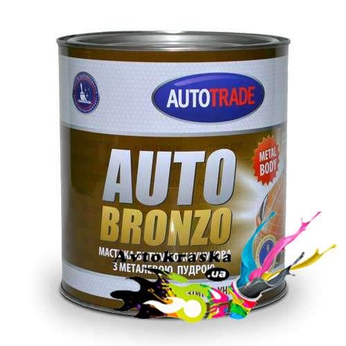 Мастика битумно-каучуковая Автотрейд Autobronzo 4,5кг - бронза