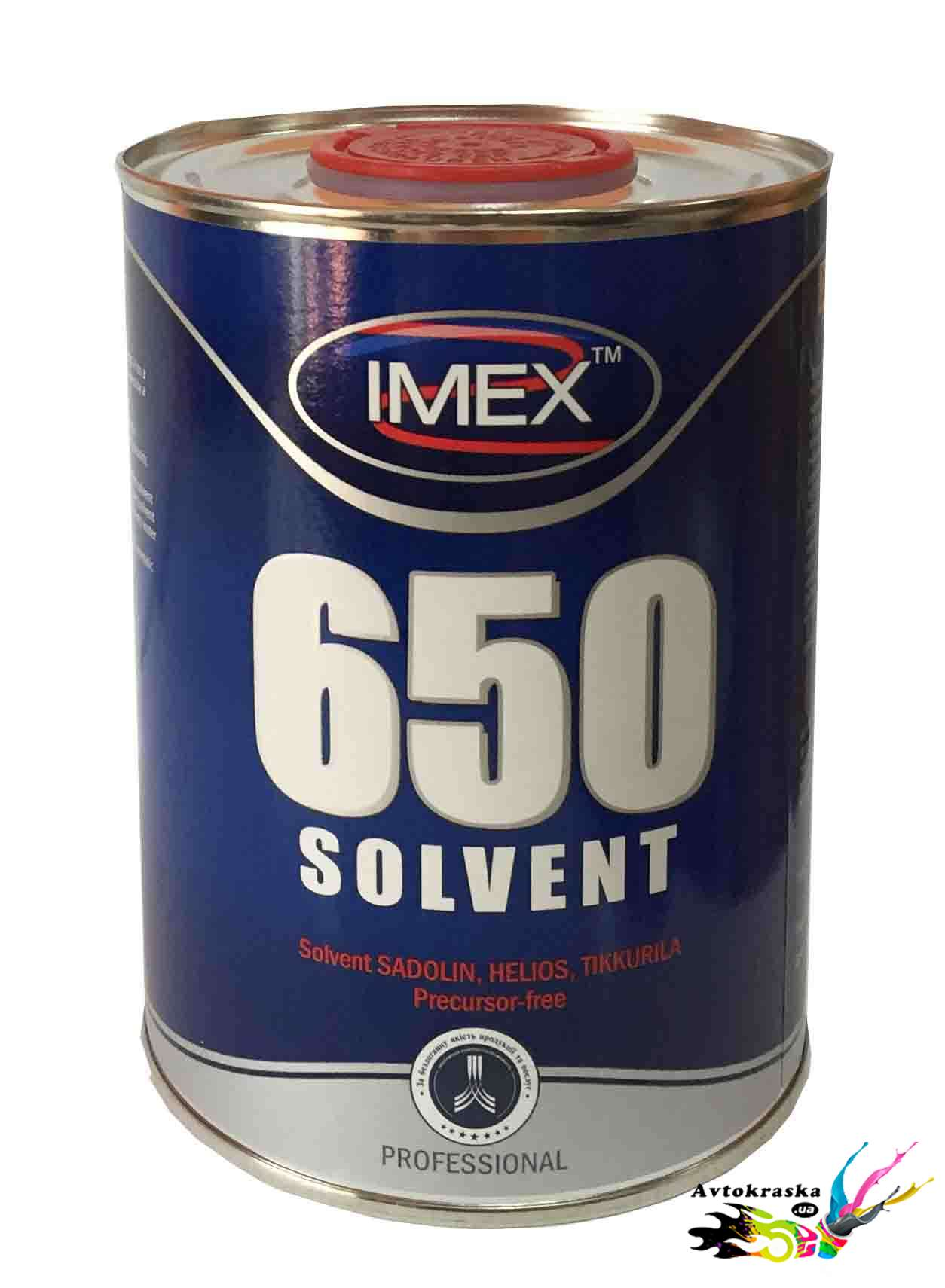 Растворитель 650 Imex без прекурсоров 1 л