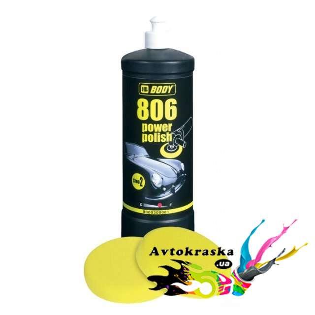 Антиголограммная Полировальная Паста Body 806 №2 1 л