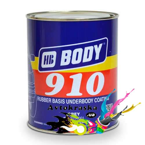 Мастика Body 910 серая 5 кг