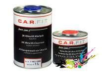 Акриловый лак для авто Carfit UHS 1л + 0,5л