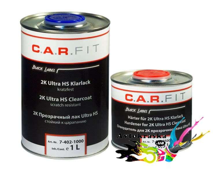 Акриловый лак для авто Carfit UHS 1л + 0,5л - 7-401-1000