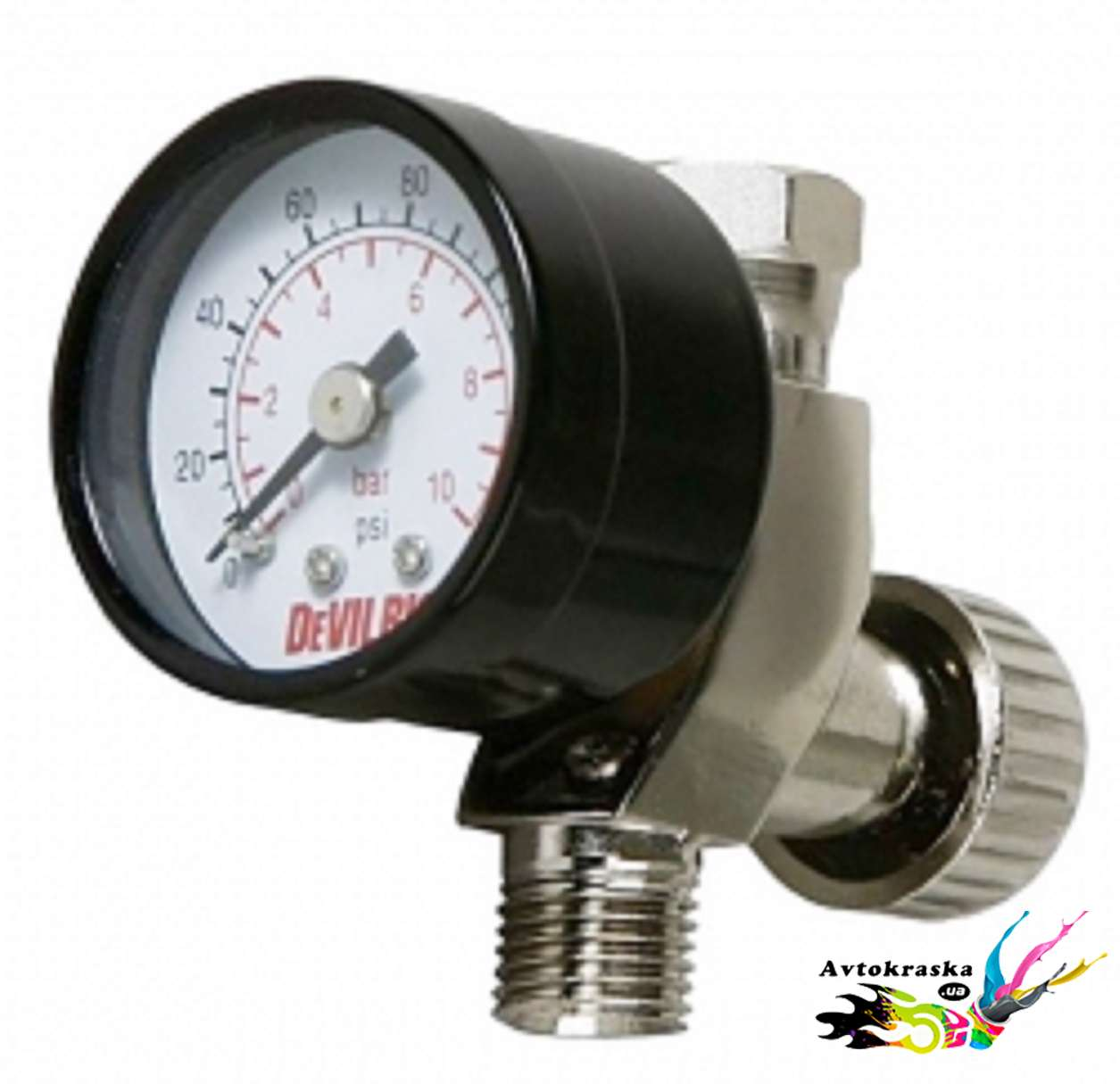Манометр Devilbiss с регулятор давления воздуха HAV-501-B - HAV-501-B