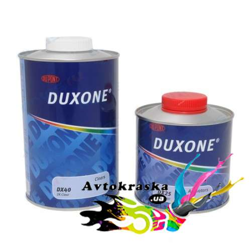 Лак Duxone DX 40 1л+0,5л