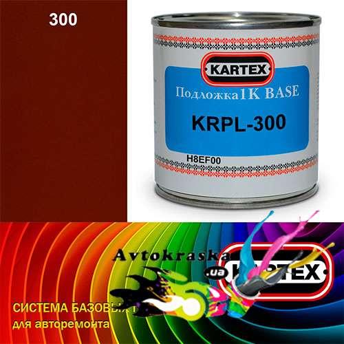 Kartex Базовая подложка для краски KRPL-300 красная 0,25 л