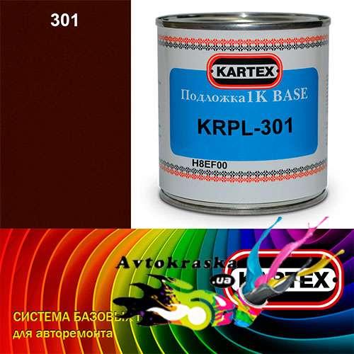 Kartex Базовая подложка для краски KRPL-301 красная темная 0,25 л