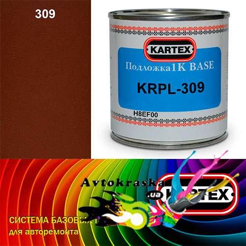 Kartex Базовая подложка для краски KRPL-309 коричнево-красная 0,25 л