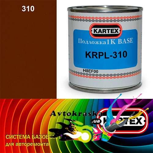 Kartex Базовая подложка для краски KRPL-310 коричнево-желтая 0,25 л