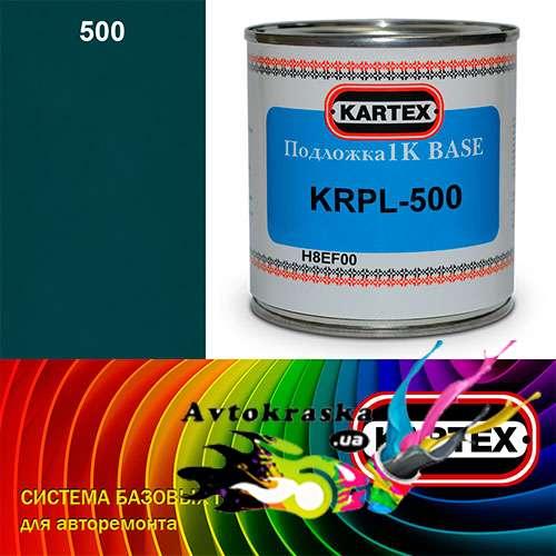 Kartex Базовая подложка для краски KRPL-500 темно-голубая 0,25 л