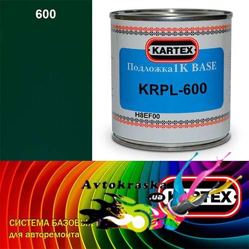 Kartex Базовая подложка для краски KRPL-600 темно-зеленая 0,25 л