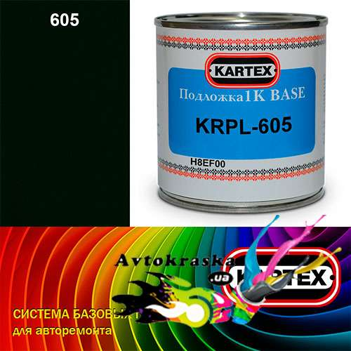Kartex Базовая подложка для краски KRPL-605 черно-серая 0,25 л