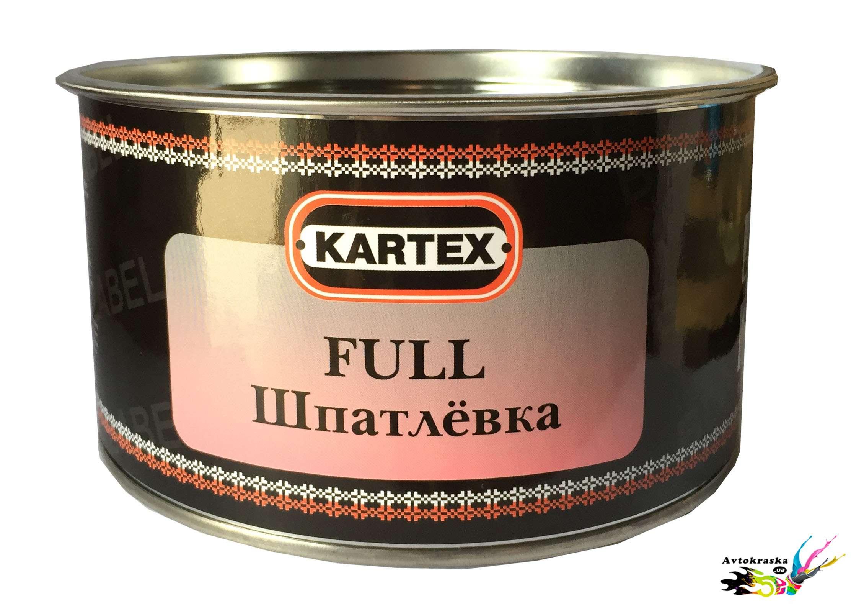 Универсальная шпатлевка Kartex Full Black Label 0,5 кг - 11010BL