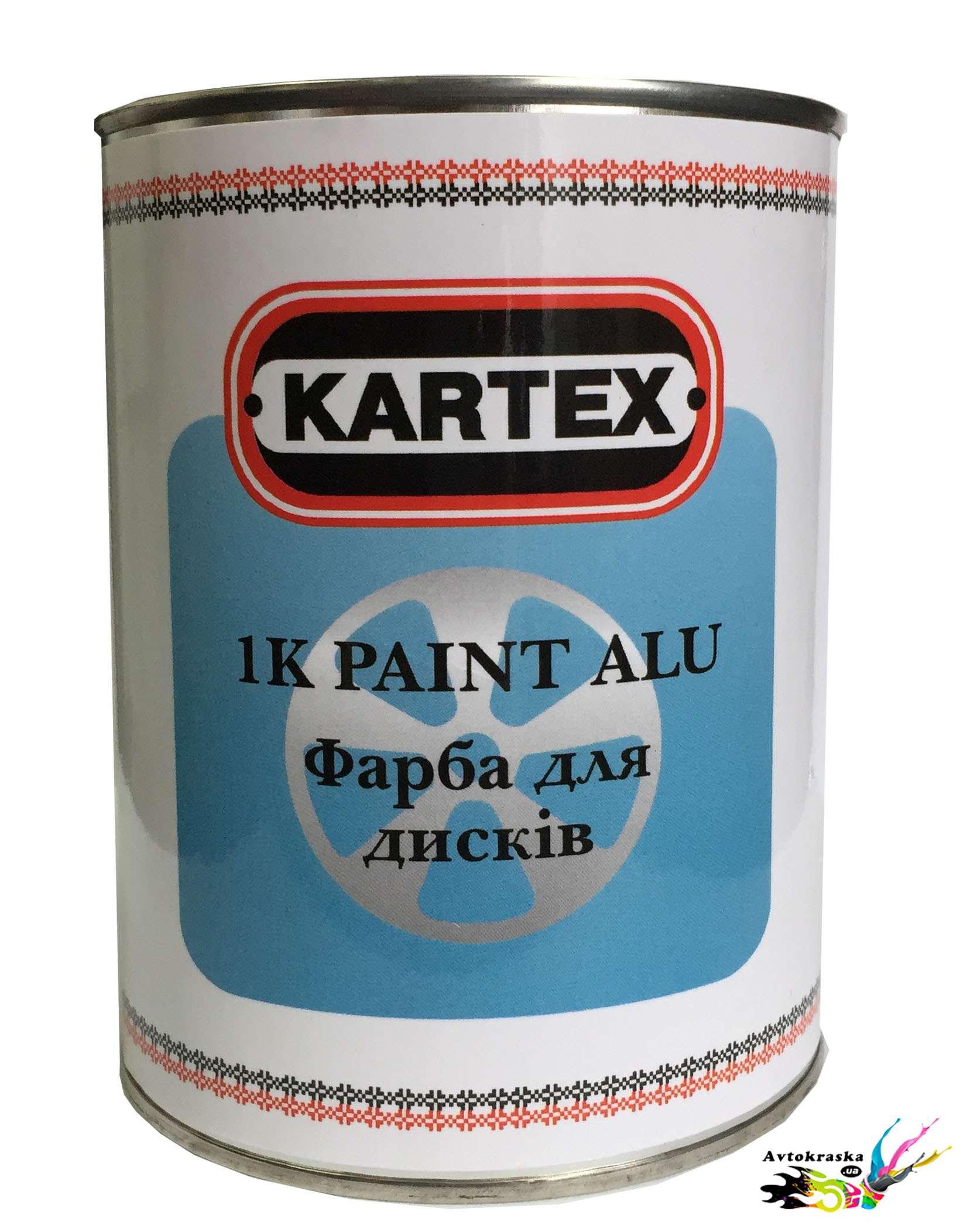 Краска для дисков Kartex 0,8 л