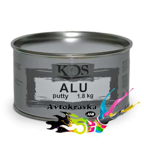 Шпатлевка KDS ALU putty 1.8 кг - KDS_ALU_1.8