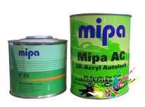 Акриловая автокраска Mipa 481 Lada Модра 1л+0,5л