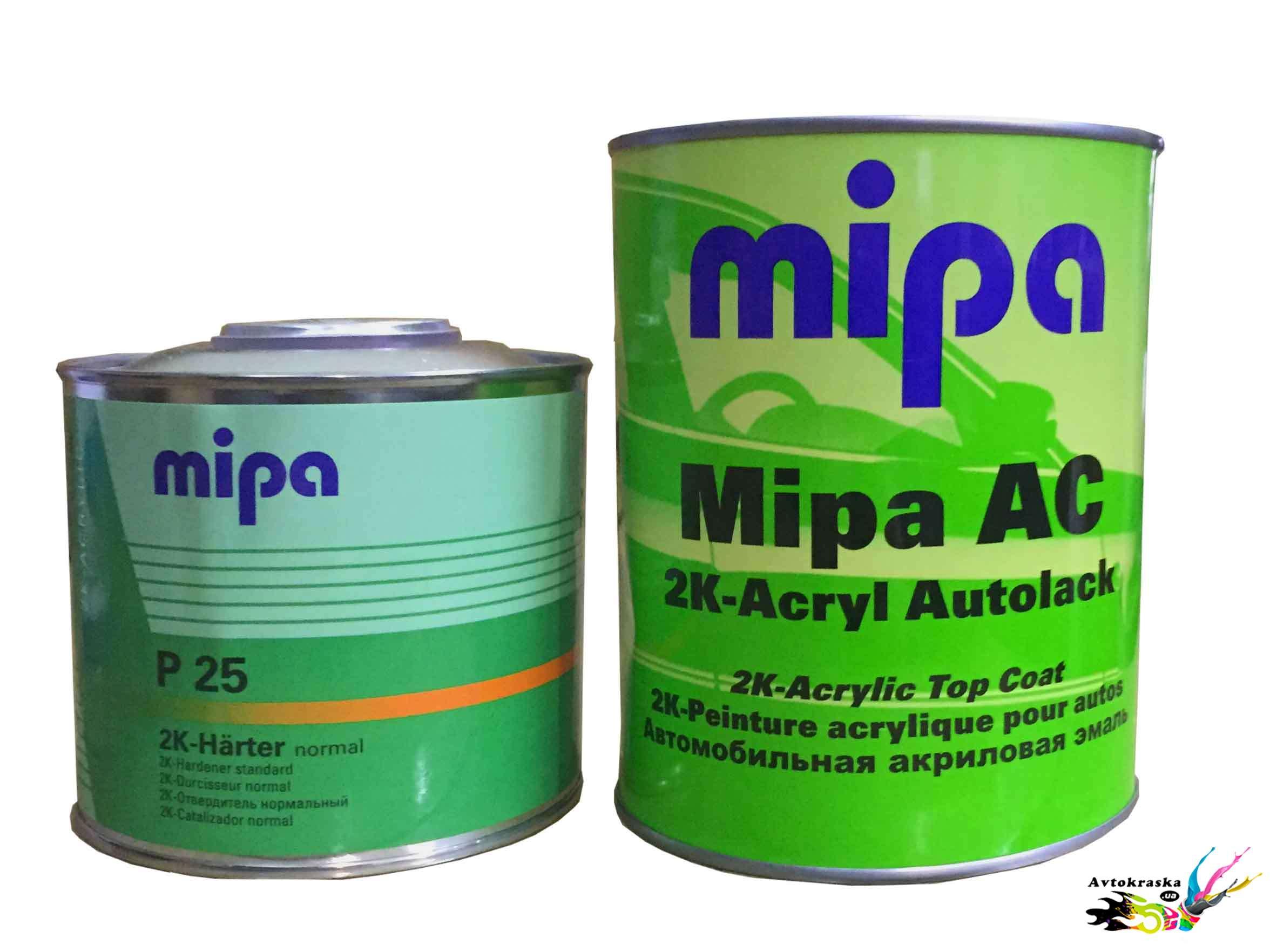 Акриловая краска Mipa 307 Lada Зеленый сад 1л+0,5л