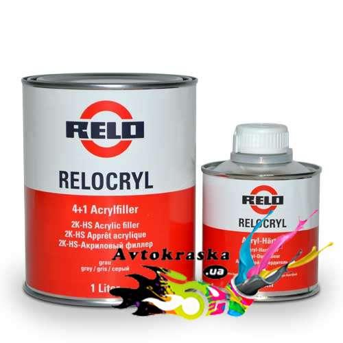 Mipa грунт-наполнитель Relocryl 1л+0,25л черный