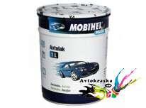Mobihel алкидная автокраска Lada 000 Черный мат 1л
