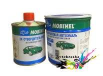 Автоэмаль Mobihel акриловая Lada 107 Баклажан 0,75л+0,375л