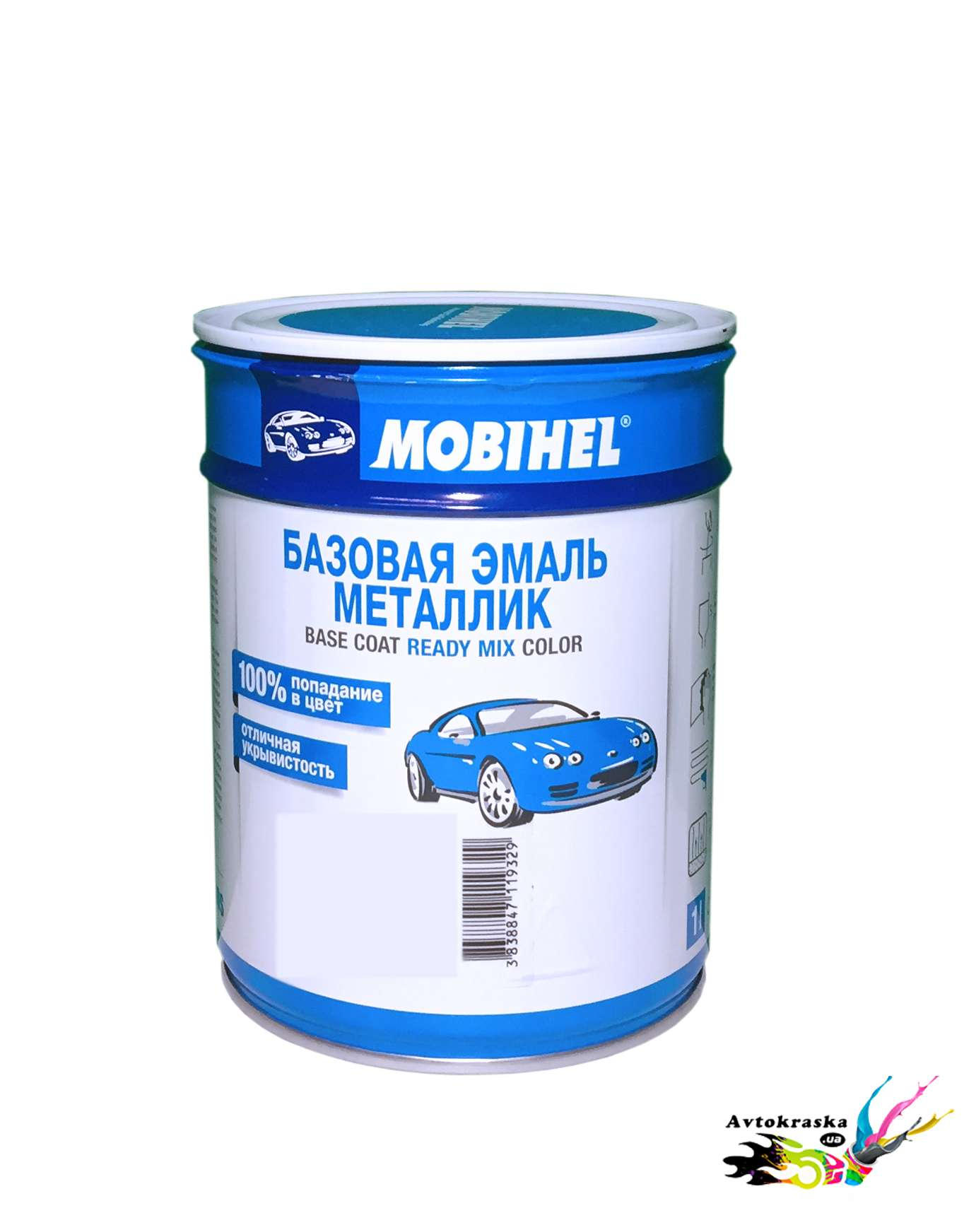 Mobihel Краска автомобильная Lada 446 Сапфир 1л